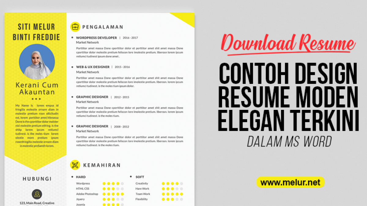 Simple Contoh Cover Letter Bahasa Melayu Good Pictures Most Important