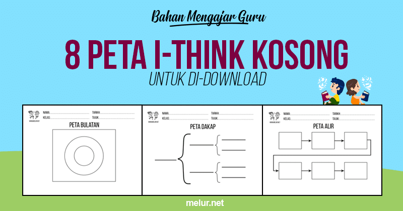 Post image for [Download PDF] 8 Jenis Peta Pemikiran • Peta i-Think